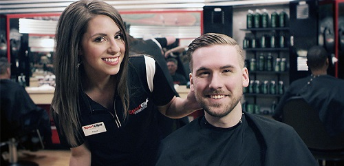 Sport Clips Haircuts of Shops @ Montano & Coors​ stylist hair cut